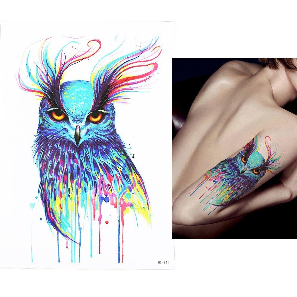 Temporare Tattoos Temporary Tattoo Fake Tattoo Aquarell Vogel
